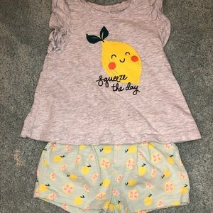 Old Navy summer matching outfit 12-18 months
